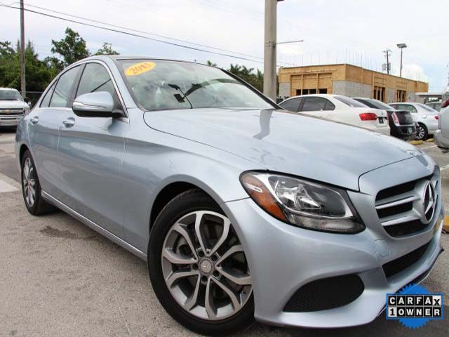 2015 Mercedes-Benz C-Class 4D Sedan - 045078