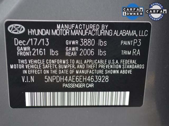 2014 Hyundai Elantra  4D Sedan  - 463928 - Image #9