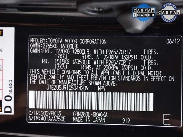 2012 Toyota 4Runner - Image 8