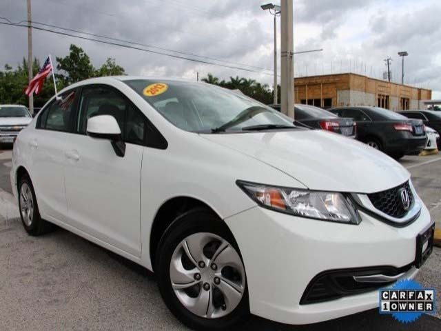 2013 Honda Civic 4D Sedan - 079708